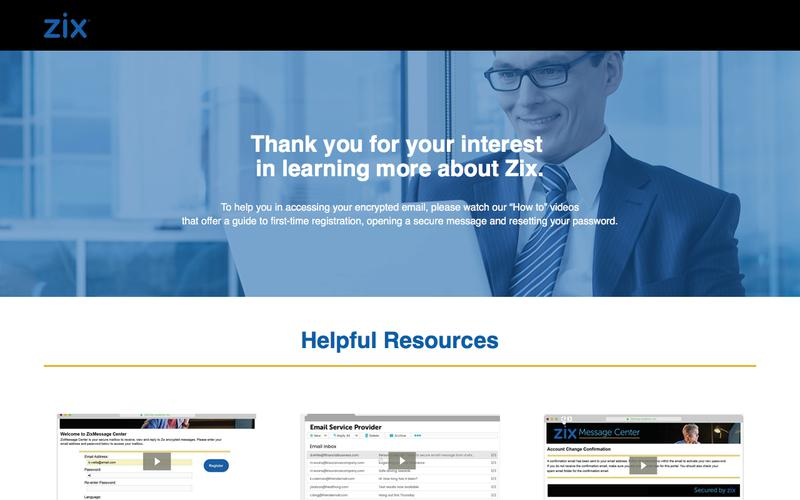 Zix Email Encryption - Learn More