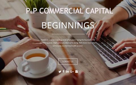 Screenshot of Home Page inpham.com - Welcome - captured Nov. 5, 2016