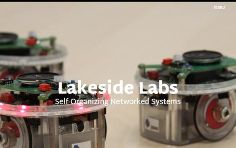 Screenshot of Home Page lakeside-labs.com - Lakeside Labs - Lakeside Labs - captured May 13, 2017
