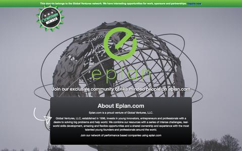 Screenshot of About Page eplan.com - About Eplan.com - captured Nov. 9, 2016