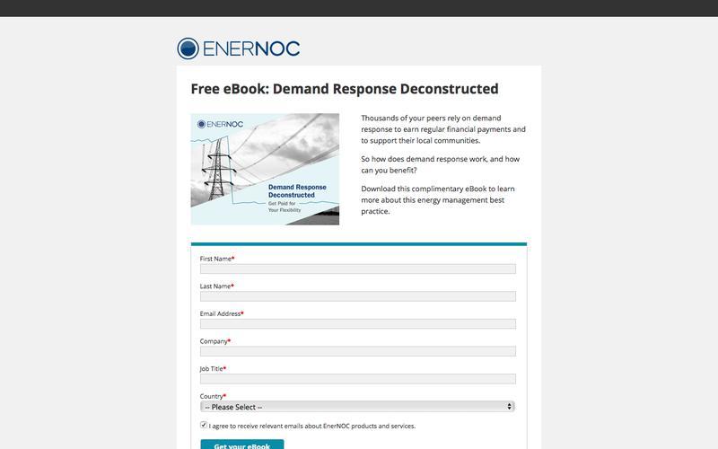 EnerNOC - DR Deconstructed eBook