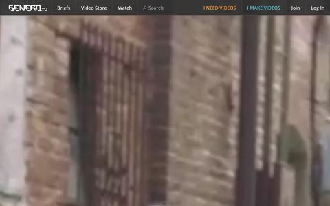 Screenshot of About Page genero.tv - About | Genero.tv - captured Dec. 12, 2015