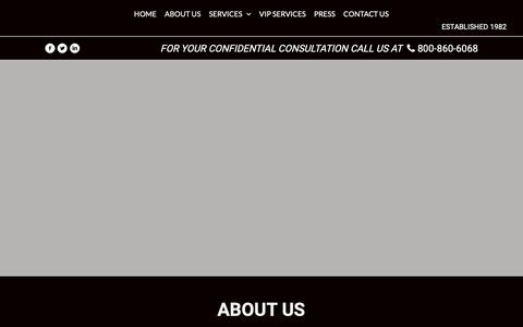 Screenshot of About Page empireinv.com - About Us | Electronic Countermeasures - captured Dec. 14, 2018