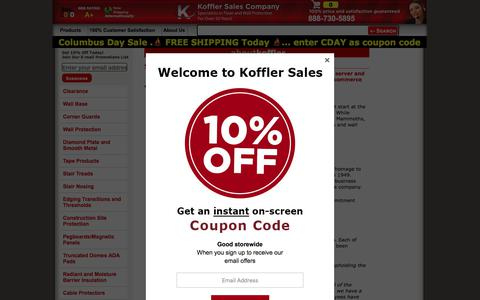 Screenshot of About Page kofflersales.com - About Koffler Sales Company - captured Oct. 13, 2019