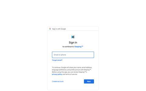 Screenshot of Login Page google.com - Sign in - Google Accounts - captured June 24, 2019