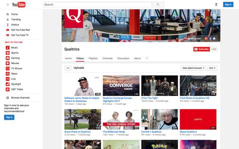 Qualtrics  - YouTube