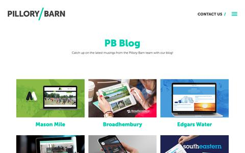 Screenshot of Case Studies Page pillorybarn.co.uk - Case Studies – Pillory Barn - captured Nov. 4, 2018