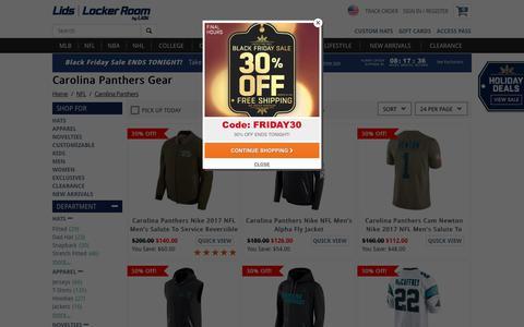 Carolina Panthers Shop: Panthers Jerseys & Hats | lids.com
