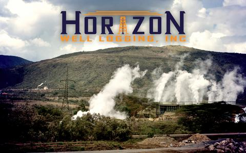 Screenshot of Home Page horizon-well-logging.com - Horizon Well Logging, Inc. – Geothermal – Research – Oil – Gas - captured Sept. 29, 2018