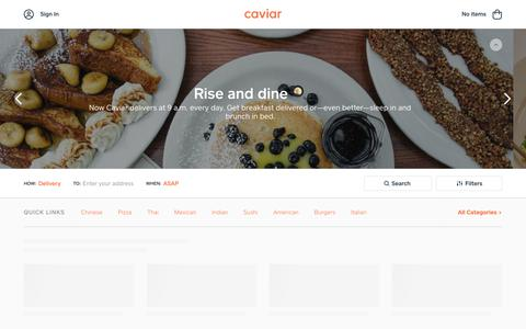 Food Delivery - Portland Restaurants | Caviar