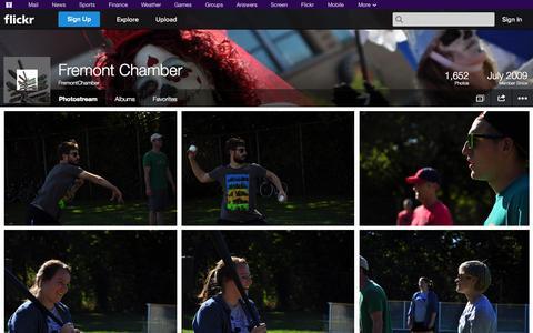 Screenshot of Flickr Page flickr.com - Flickr: FremontChamber's Photostream - captured Oct. 22, 2014