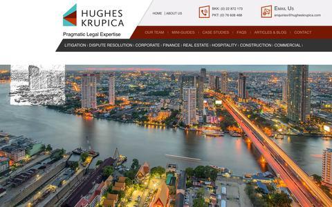 Screenshot of About Page hugheskrupica.com - About Us - Hugheskrupica - captured July 22, 2018