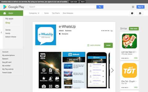 e-WhatsUp - Android Apps on Google Play