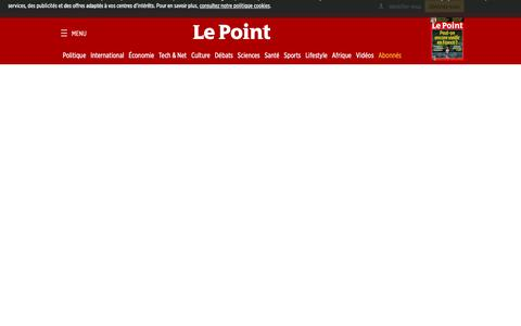Screenshot of FAQ Page lepoint.fr - Le Point - Foire aux questions - captured Oct. 21, 2018