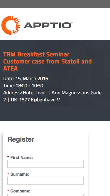TBM Breakfast Seminar