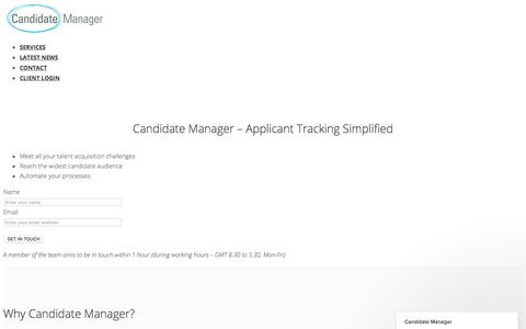 Candidate Manager - ATS - HR Software