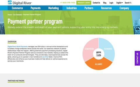 Payment Partner Program - Digital River
