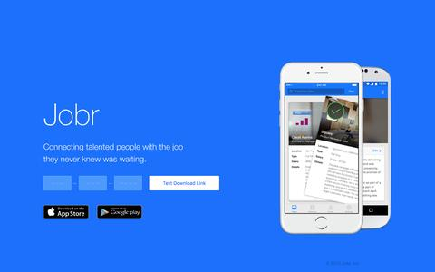 Jobr - Mobile Job Discovery