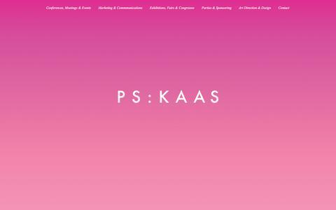 Screenshot of Home Page kaas-projekt.de - kaas-projekt - captured Feb. 12, 2016