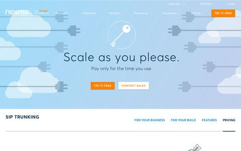 High traffic Software Pricing Pages   Website Inspiration