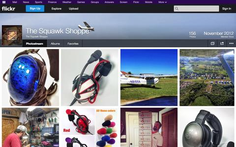 Screenshot of Flickr Page flickr.com - Flickr: The Squawk Shoppe's Photostream - captured Oct. 29, 2014