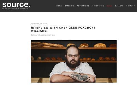 Screenshot of Blog sourcefood.co.za - Blog — Source Food - captured Dec. 1, 2016