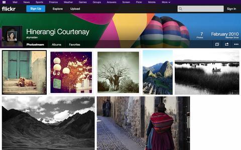 Screenshot of Flickr Page flickr.com - Flickr: skymaiden's Photostream - captured Oct. 26, 2014