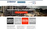 New Screenshot Allegheny Design Services Home Page