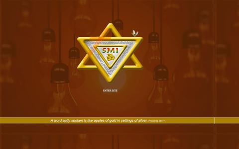 Screenshot of Home Page saylahministries.com - SAYLAH Ministries, Inc. - Home - captured Feb. 3, 2016