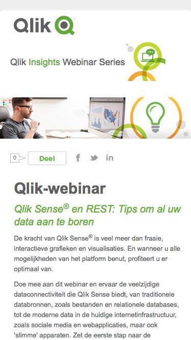 Qlik Sense® en REST: Tips om al uw data aan te boren
