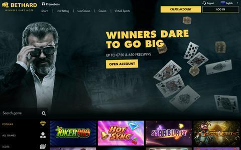 Bethard - Casino and Live Casino