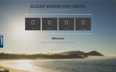 Screenshot of Team Page clearvisionpartners.com - Clear Vision Partners - captured July 21, 2015