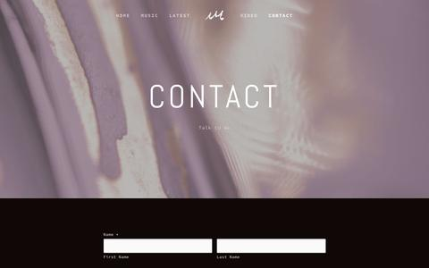 Screenshot of Contact Page kingde.co - Contact — King Deco - captured Jan. 31, 2017