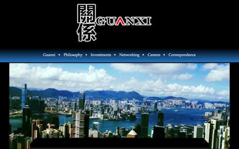 Screenshot of Site Map Page guanxi-group.com - Guanxi - captured Oct. 29, 2014