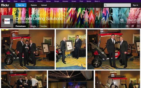 Screenshot of Flickr Page flickr.com - Flickr: Drillchem Drilling Solutions' Photostream - captured Oct. 23, 2014
