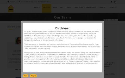Screenshot of Team Page vbhc.com - Our Team - VBHC - captured June 29, 2017