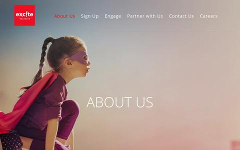 Screenshot of About Page exciteholidays.com - About Us - Excite Holidays - captured May 23, 2017