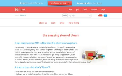 Bluum - About  Us