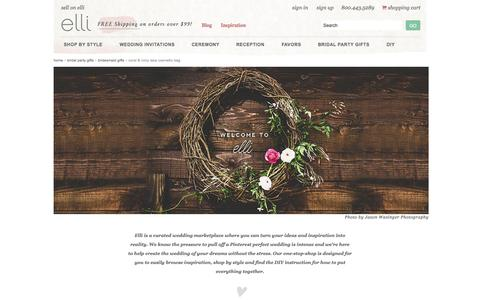 Screenshot of About Page elli.com - About Us - captured June 17, 2015