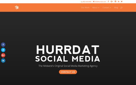 Hurrdat Social Media | Lincoln, NE