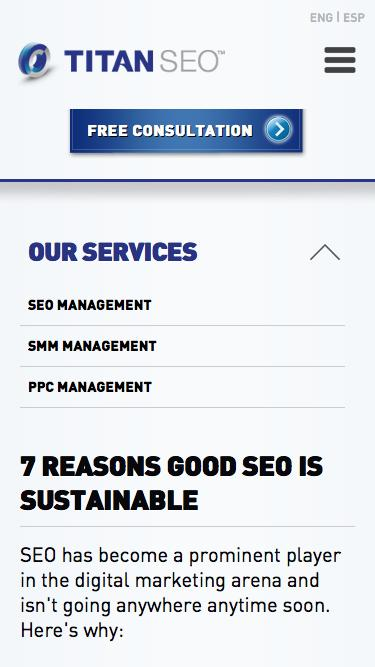 7 Reasons Good SEO is Sustainable