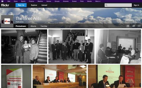 Screenshot of Flickr Page flickr.com - Flickr: TheBnetAnts' Photostream - captured Oct. 26, 2014