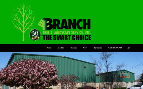 Screenshot of Contact Page branchtree.com - Branch Tree | Tree Company | Branch Tree & Landscape Service - captured Oct. 6, 2018