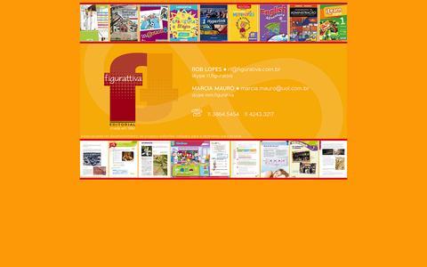 Screenshot of Home Page figurativa.com.br - Figurativa Editorial - captured Oct. 5, 2014