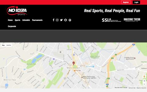 Screenshot of Contact Page noideasports.com - Contact Us | No Idea Sports - captured June 14, 2017