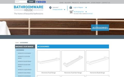 Bathroom Accessories and Towel Rails | Bathroomware House