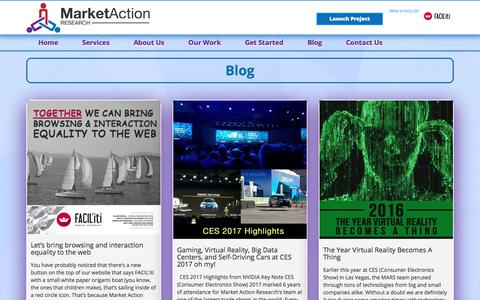 Screenshot of Blog marketactionresearch.com - Blog - Market Action Research, Inc - captured Oct. 17, 2017