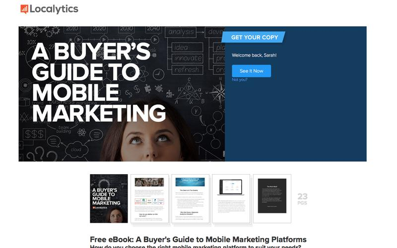 A Buyer's Guide to Mobile Marketing Platforms