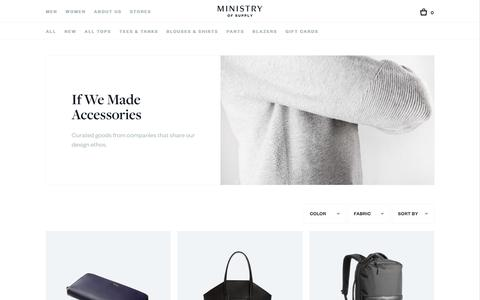 Women's Accessories | Ministry of Supply