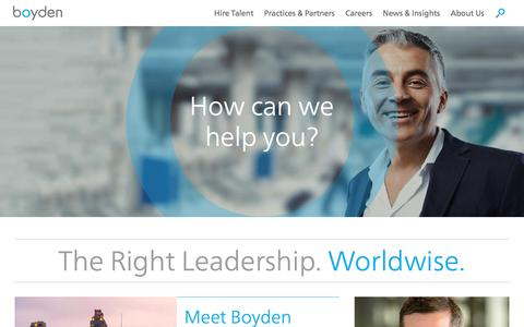 Home - Boyden Executive Search